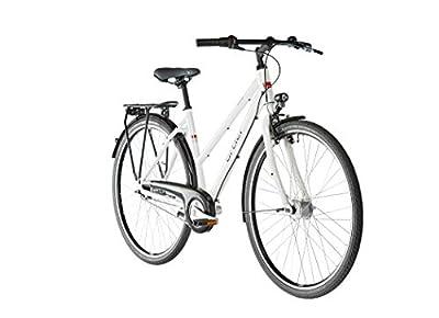 ORTLER Harstad Damen weiß Glanz 2019 Cityrad