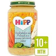 Hipp Tagliatelle Organique Avec Goberge Dans Une Sauce 220G De Brocoli Crémeuse - Paquet de 4