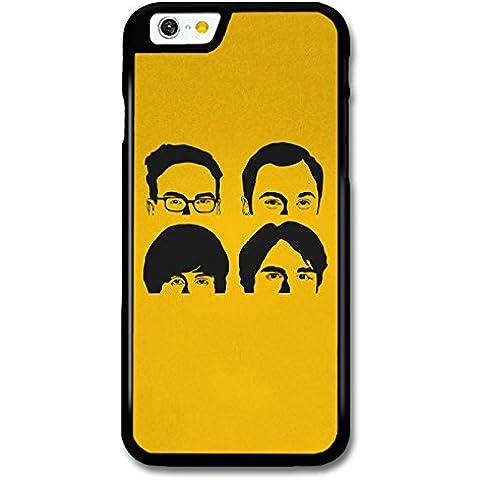 Big Bang Theory Yellow Faces Like The Beatles Illustration custodia per iPhone 6 6S - Beatles Faces