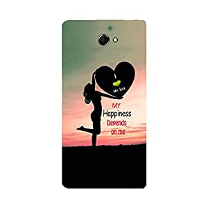 Digi Fashion premium printed Designer Case for Sony Xperia M2 Dual