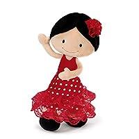 Nici 38927 30 cm Flamenco Doll Minicarmen Dangling Plush Toy