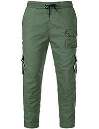 22592f1a3f3 Pantalones de Trekking Hombre, SUNNSEAN Pantalones de Softshell Pantalones  Transpirable de Escalada Pantalones Impermeable Deportes