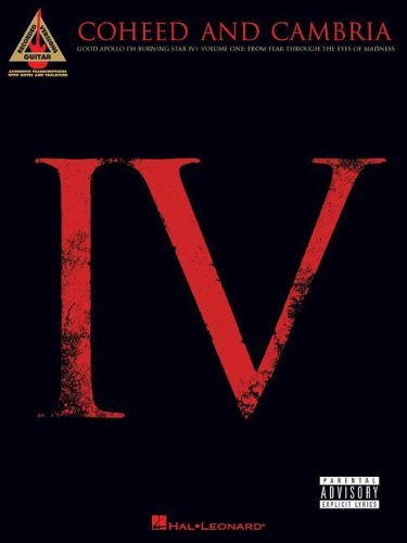 Coheed & Cambria - Good Apollo I'm Burning Star, IV, Vol. 1 Songbook: From Fear Through the Eyes of Madness (From Feat Through the Eyes of Madness) (English Edition)