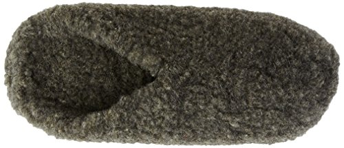 Woolsies - Hedgehog Natural Wool Mule Slippers, Pantofole Unisex - Adulto Grigio (Grau - Gris - Grey (Graphite Grey))
