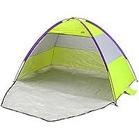 Yello UV Protection Beach Upf Outdoor Shelter Tent, Green, 2.1 M