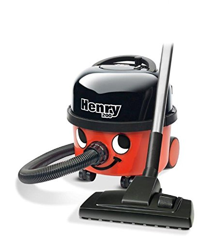 NUMATIC HVR200-11 Henry Vacuum Cleaner, Bagged, 620 W – Red/Black