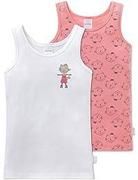 Schiesser, Camiseta de Tirantes para Niñas (Pack de 2)