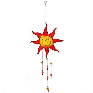 Mehrfarbige Sun Design hängen Suncatcher mit Perlen-Home und Garden Ornament