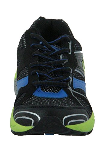 Bruetting  Diamond Star, Chaussures de running homme - Schwarz (schwarz/blau/lemon)