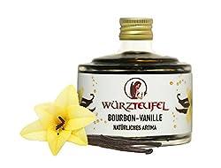 Bourbon-Vanille Extrakt 10-fach konzentriert aus Madagaskar, natürliches Bourbon-Vanille Aroma. Ergiebig wie 400ml. Flasche 40ml.