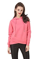 Texco solid pink winter sweatshirt