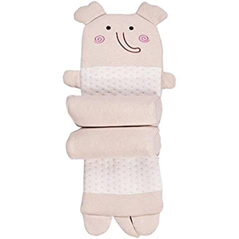 Cotone colorato regolabile carina cuscino di grano saraceno per bebè e bambini , elephant