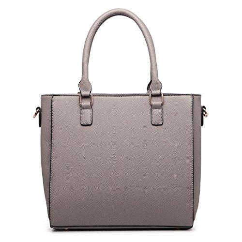 Miss Lulu , Cabas pour femme 1654 Grey