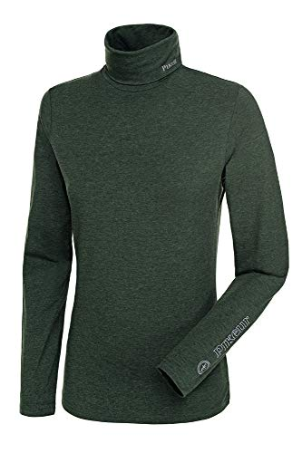Pikeur Womens Sina Polo Neck Pullover Top Anthracite Womens Size - XL