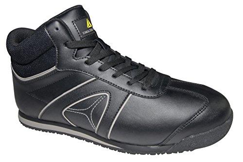 Delta PLus Deltaplus Dstar S3–Composite Non Embout en Acier Style de Chaussures de Sécurité Travail de Coffre Noir