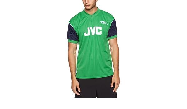 8c7ed56ba Score Draw Official Retro Arsenal 1982 Away Men s Retro Football Shirt -  Green