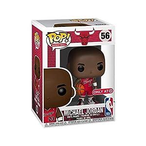 Funko Pop Michael Jordan Chicago Bulls camiseta roja (NBA 56) Funko Pop NBA