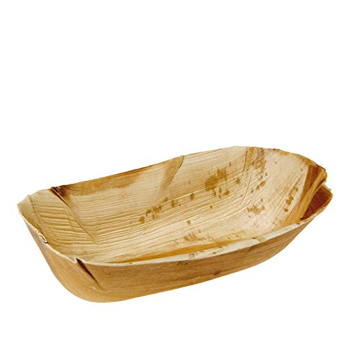 20 cestas de palmera ovaladas 22 x 12