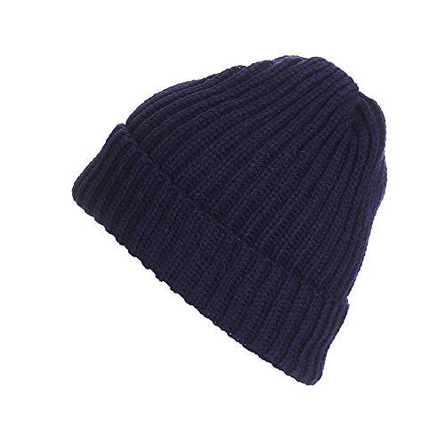 Kobay cappello da donna unisex da uomo in maglia invernale con berretto da  sci 99dfc755e844