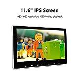 eonon L0318 11,6 Zoll 1080P IPS HD Digital Multimedia Super Thin Auto Kopfstütze Monitor DVD Player mit HDMI Fernbedienung USB SD