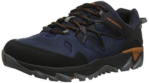 Merrell All out Blaze 2 GTX, Zapatillas de Senderismo para Hombre, Azul (Sodalite), 42 EU