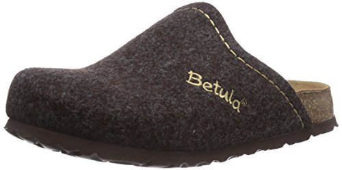 Betula House Soft, Mules mixte adulte Marron - Marron foncé