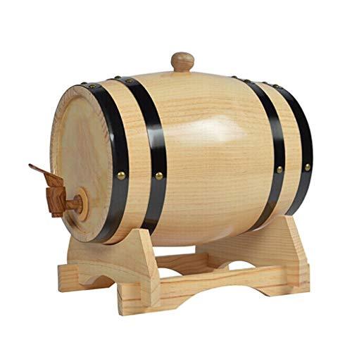 HUNYUAN-LF 10L Eichenfässer aus Holz, Whiskyfass, Wein oder gebrautes Bier und Spirituosen, Weinfässer, Mehrfarbig optional (Color : D)