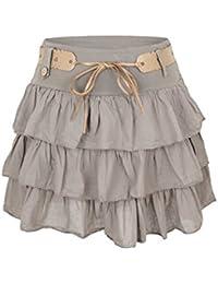 AO mini-jupe à volants