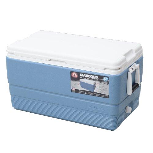 Igloo MaxCold Ultra Kühler, Eisblau (Plug Ultra-drain)