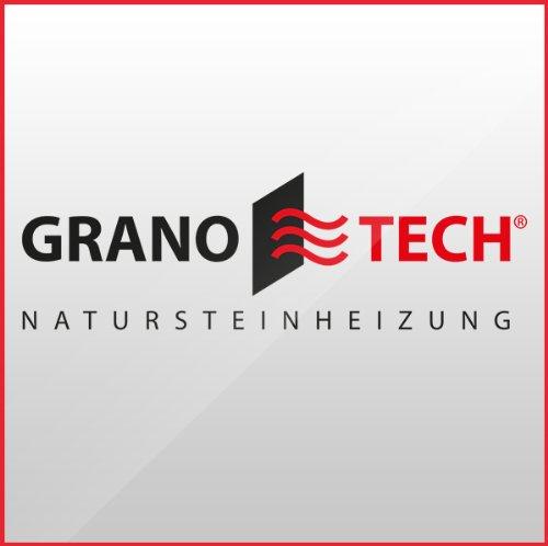 Granotech® Marmor-Infrarotheizung / 800 Watt Carrara Komplettpaket - 8
