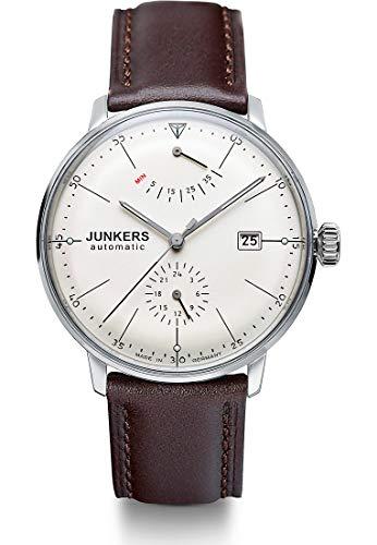 Junkers Herrenuhr Analog Automatisch mit Lederarmband – 60605