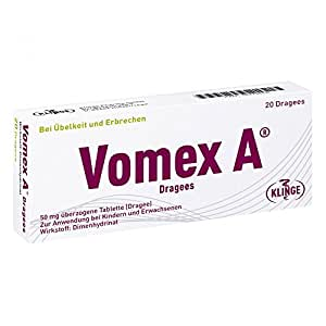 Vomex A Dragees, 20 St.