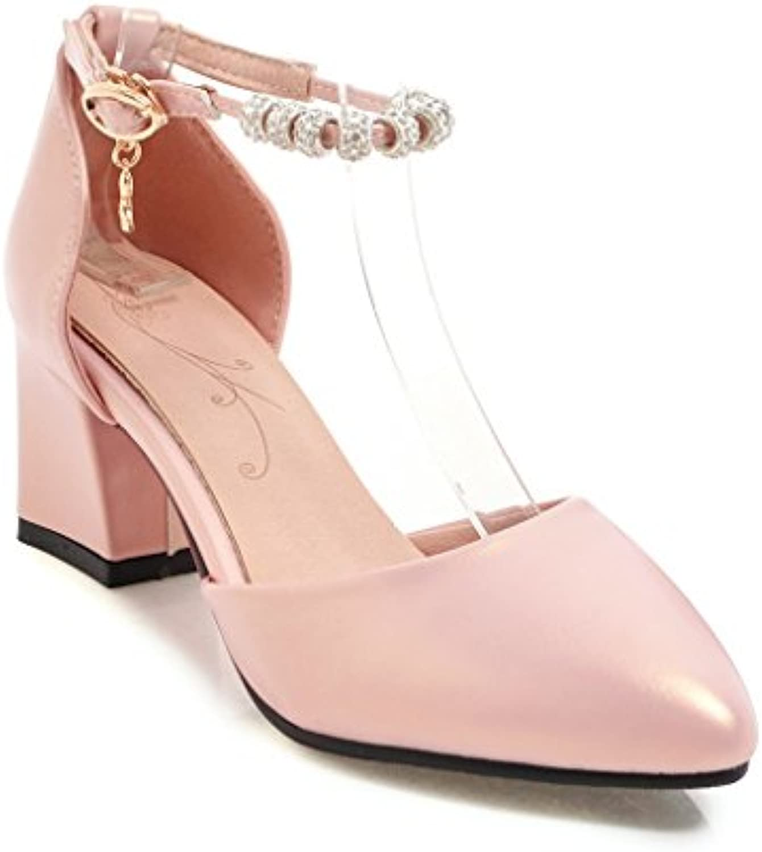 Sandalias Mujer/Sandalia con Pulsera para Mujer/Zapatos de Tacón Alto DE 15 cm con Zapatos de Mujer, Bolsos de... -