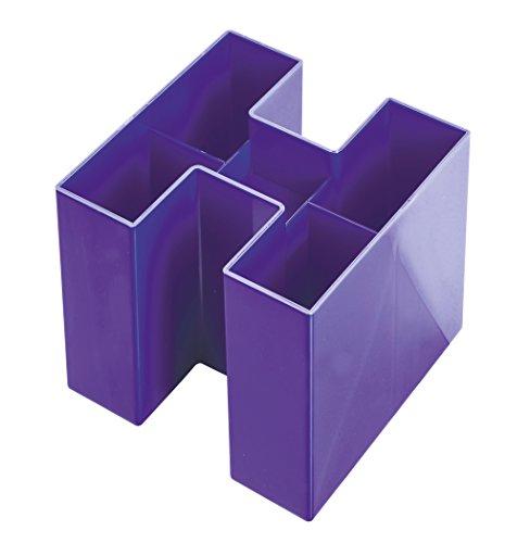 han-bravo-109-x-109-x-90-mm-organizador-de-escritorio-con-5-compartimentos-pack-de-6-color-morado