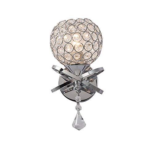 Lampadario Moderner Minimalistischer Zarter Bogen Hängende Kristallwandlampe Wohnzimmerwandlampe Romantische Korridorwandlampe -
