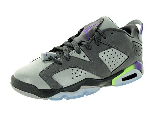 Nike Air Jordan 6 Retro Low Gg, Scarpe da Corsa Bambina, Talla Dark Grey/Ultraviolet/Wolf Grey