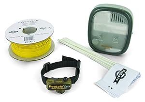PetSafe Clôture Anti-Fugue avec Collier Anti-Fugue Deluxe avec Fil pour Chat - Collier spécial Chat étanche - Clôture Facile à Installer