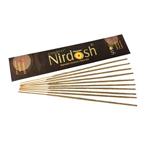 Lynpha vitale incenso naturale nirdosh al sandalo - 10 bastoncini di incenso