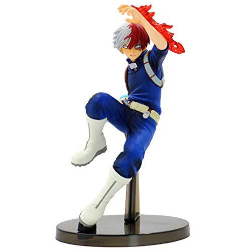 Templom SIX My Hero Academia Action Figure, Izuku Midoriya Todoroki Shoto  Katsuki Bakugou Figurine en PVC à Collectionner Figurine en PVC pour