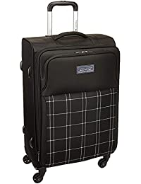 7576447b Tommy Hilfiger Miami Lite Polyester 106 Ltrs Black Carry On (TH/MIA01075)