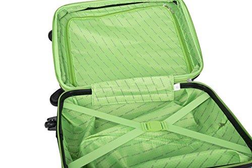 41cEJDzYS2L - Maleta rígida PIERRE CARDIN petróleo mini equipaje de mano ryanair VS187