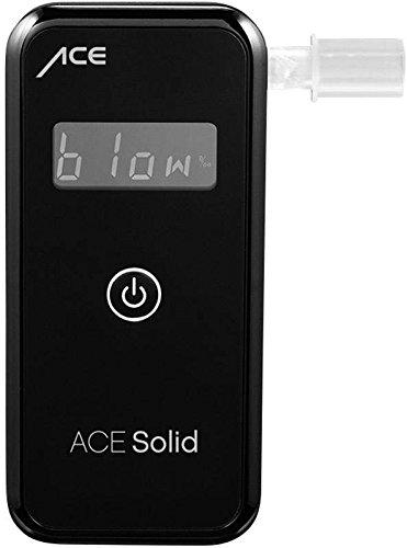 ACE Solid Alkoholtester - Professioneller Promilletester mit Digitalanzeige Halbleitersensorzelle