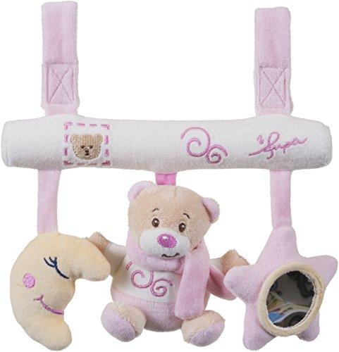 Bieco 02013177 - Universalhänger Bärchen, rosa