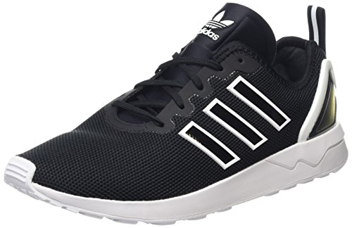 Adidas Unisex Adults Zx Flux Adv Low-Top Sneakers, Black (Core Black/Core Black/Ftwr...