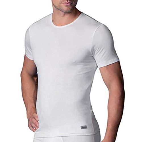 ABANDERADO Camiseta T/érmica De Manga Corta Y Cuello Redondo para hombre