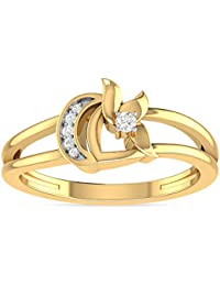 PC Jeweller The Avalee 22KT Yellow Gold Rings