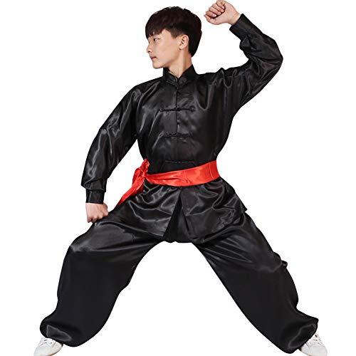 Leistung Kleidung - Erwachsene Kinder Sets Jungen Mädchen Chinesisch Traditionell Kostüme Frauen Shaolin Kung Fu Tai Chi Männer Training Kleidung ()