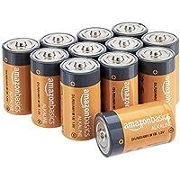 AmazonBasics Piles alcalines D 1,5V pour le quotidien - Lot de 12 (le visuel peut différer)