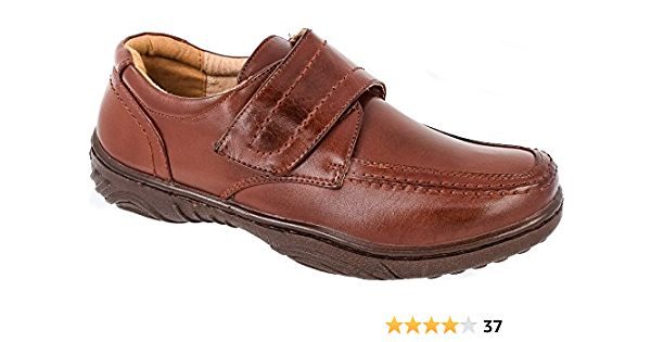 Mens Casual Shoes Tan Brown Leather