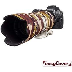 EasyCover Coque de Protection en néoprène pour Canon EF 70-200 mm f/2.8 is II USM Marron